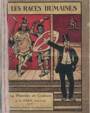 Livro intitulado 'As Raças Humanas', de 1921. Foto: grupo de pesquisas Achac, coleção particular
