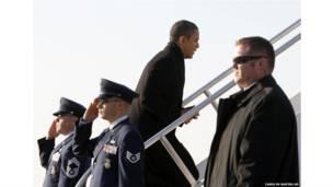 Обама прибыл в Канзас
