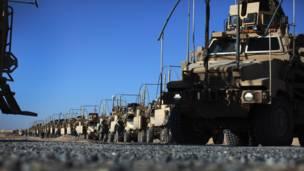 Tentara Amerika dan kendaraan militer