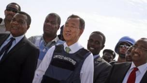 Ban Ki Moon muri Somalia