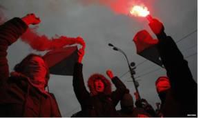 خبریالان وايي شاید د کمونیستي نظام تر جوړېدا وروسته دا په روسیه کې تر ټولو لویه مظاهره وي.