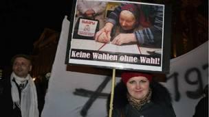 Акция в Берлине