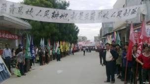 薛錦波死亡觸發抗議