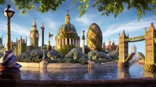 'London Skyline'. Foto: Carl Warner