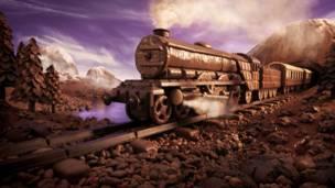 'Chocolate Express'. Foto: Carl Warner