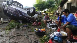 tormenta tropical en Filipinas