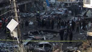انفجار في الكرادة ببغداد