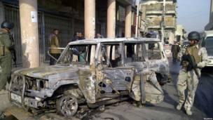 انفجار بمنطقة العلاوي ببغداد