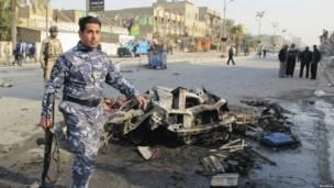 انفجار في منطقة الشعب شمال شرق بغداد