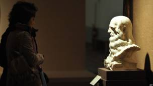 В выставочном зале Национальной галереи в Лондоне