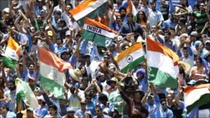 मेलबॉर्न में भारतीय क्रिकेट टीम के समर्थक