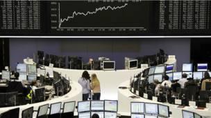 Торги на Франкфуртской фондовой бирже