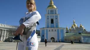 الأوكرانية أولغا خارلان