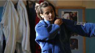 لاعبة الجودو ماجلندا كلميندا