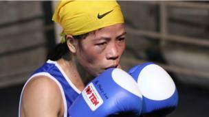 بطلة الملاكمة الهندية ماكماري كوم