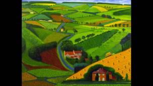 معرض الفنان ديفيد هوكني