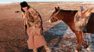 Adiyasuren與他的小驢