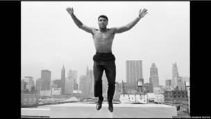 Мохаммед Али: прыжок на фоне Нью-Йорка
