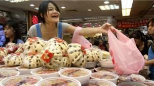 Пищевой рынок в Тайбэе