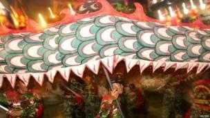 इंडोनेशिया में ड्रेगन वर्ष