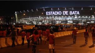 Hotuna: Equatorial Guinea ta taka rawar gani