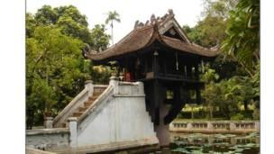 Chùa Một Cột ở Hà Nội