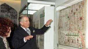 Pasngeran Charles hadir di pameran haji di British Museum.