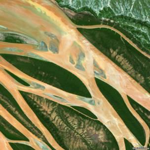 Imagen: cotersía DigitalGlobe / www.digitalglobe.com