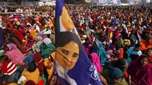 मायावती की रैली