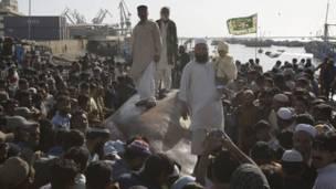 دغه کب وروسته سیمه ییزو رسنیو ته تر ښودل کېدو وروسته لیلام شو، چې په کابو یو میلیون پاکستاني روپیو وپلورل شو.