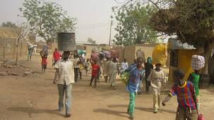 Hotuna: Zaman dar-dar a garin Mariri na Kano
