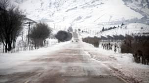 جاده دوشنبه - دربند