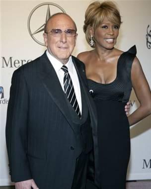 Whitney Houston y Clive Davis