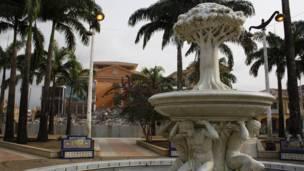 Plaza de la catedral, Malabo