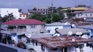 Casas en Bata
