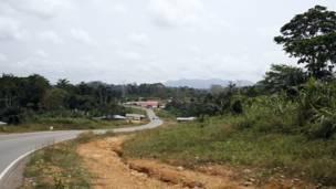 Carretera de Bata a Mongomo