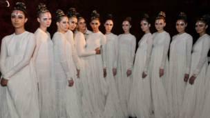 तस्वीरें- सौजन्य विल्स लाइफ़स्टाइल इंडिया फ़ैशन