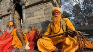 Индуистский праздник в Катманду