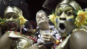 Ator Richard Dean Anderson em Salvador (Reuters)