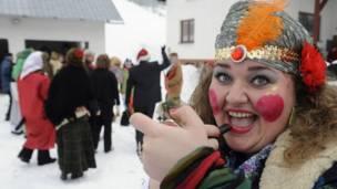 Carnaval na Eslováquia (Reuters)