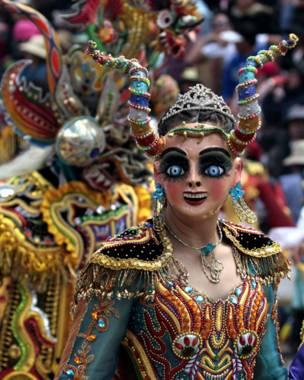 Carnaval em Oruro (Reuters)