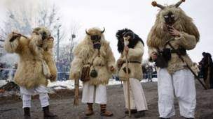 Carnaval na Hungria (Reuters)