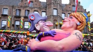 Carnaval em Düsseldorf (Getty)