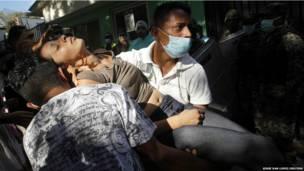 Беспорядке в Гондурасе