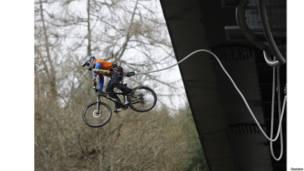 Cyclist Adam Flint
