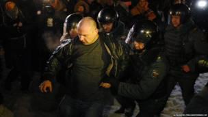 اعتقالات في موسكو