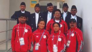 एथेन्स ओलिम्पिक्समा सहभागी नेपाली टोली