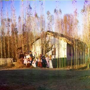 Rusiya imperiyası rəngli şəkillərdə