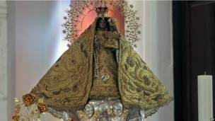 Imagen de Ntra. Señora de la Caridad del Cobre