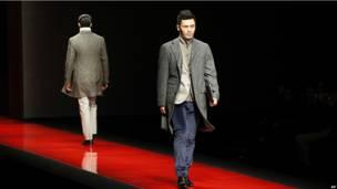Неделя китайской моды в Пекине.